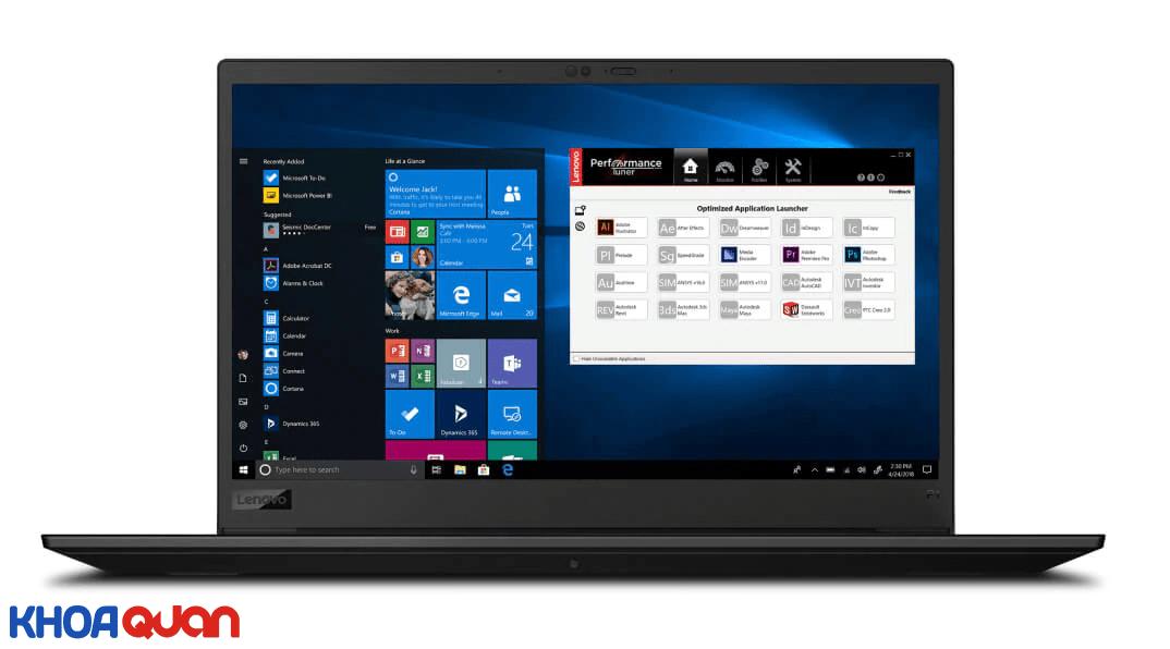 ThinkPad P1 Gen 3 tóm tắt, tùy chọn cấu hình và giá bán
