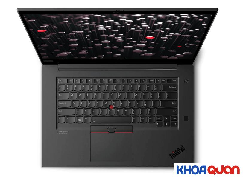 Bàn phím và bàn di chuyển chuột đặc trưng của ThinkPad