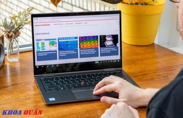 Thời gian sử dụng của ThinkPad X1 Yoga Gen 4