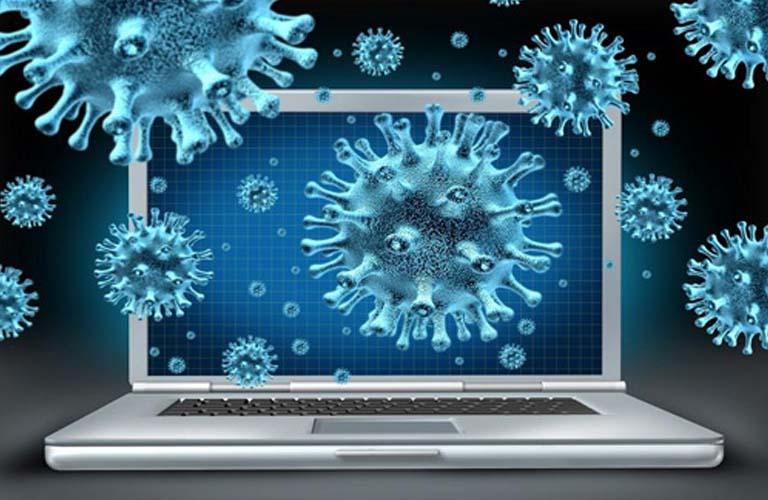 Virus xâm nhập vào máy làm bàn phím không hoạt động bình thường