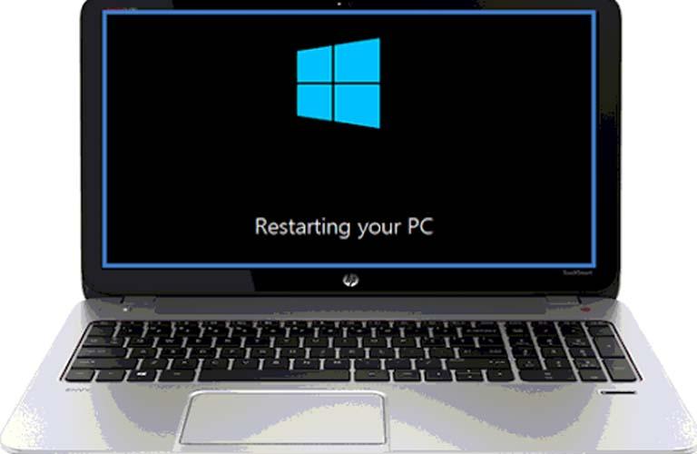 Hãy khởi động lại máy của bạn để loại bỏ được lỗi bàn phím đang hiện diện