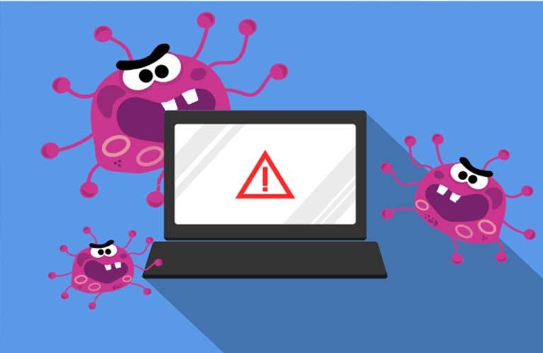 Bạn cần cài đặt phần mềm diệt virus để diệt những tác nhân gây hại laptop này