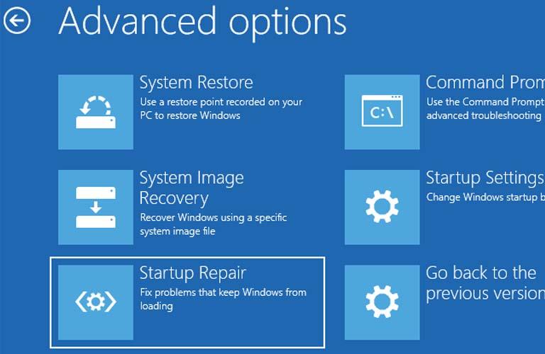 Sử dụng Windows Repair để khắc phục lỗi