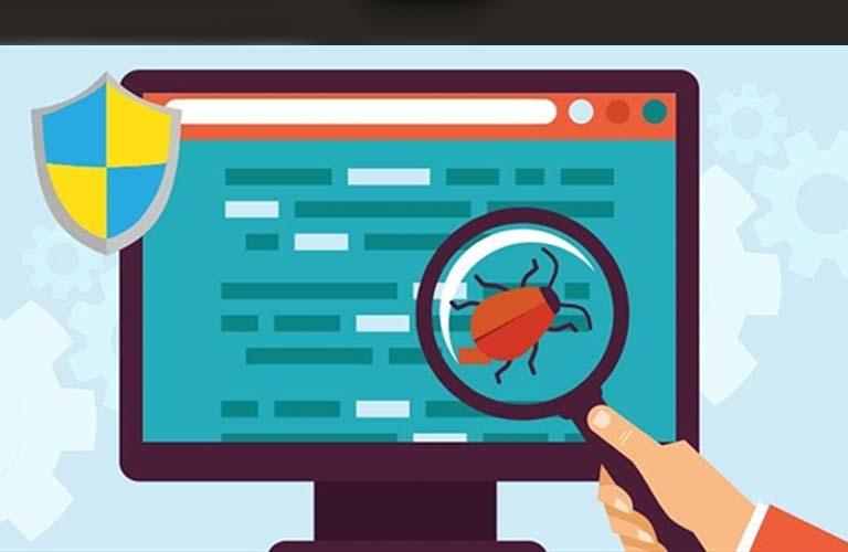 Cài đặt các phần mềm diệt virus để trừ khử được nguyên nhân gây ra lỗi