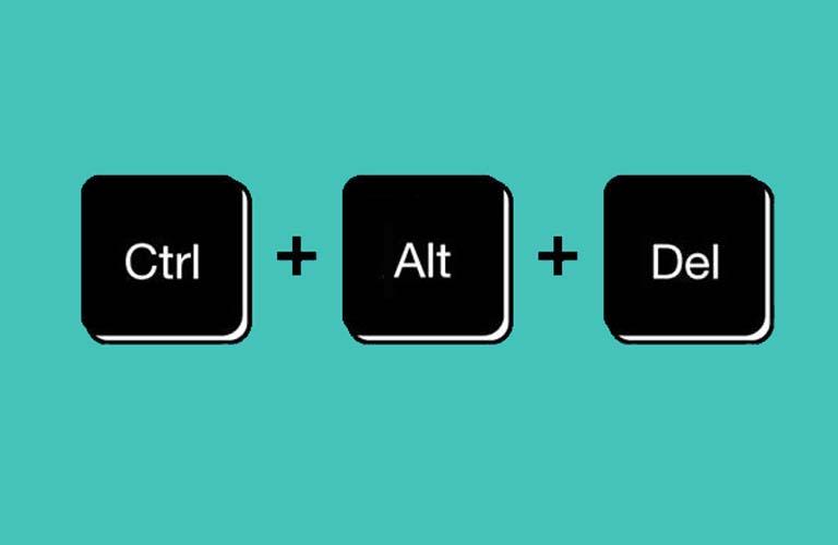 Bấm tổ hợp phím Ctrl + Alt + Del nếu bạn không có đèn led hiển thị của Num Lock
