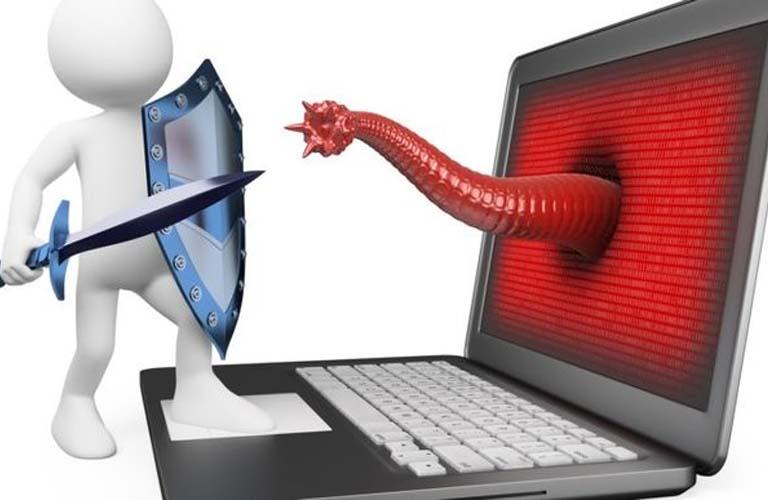 Nhớ cài đặt và sử dụng phần mềm diệt virus uy tín để bảo vệ cho laptop của bạn