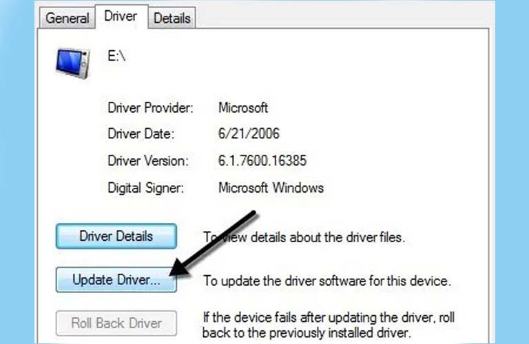 Cập nhật Driver USB cho máy tính xách tay của bạn