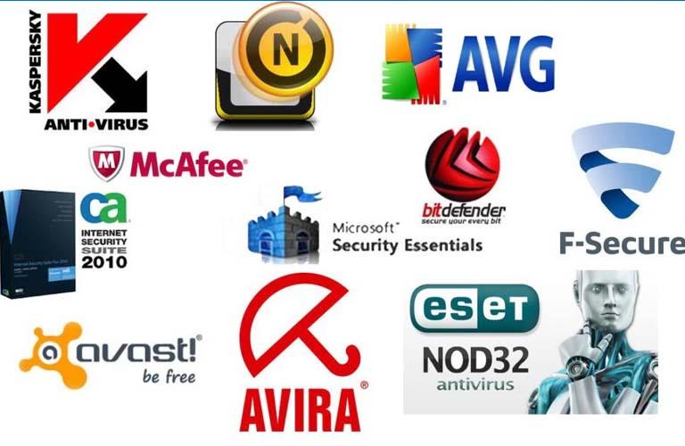 Những phần mềm diệt virus hiện nay được nhiều người sử dụng