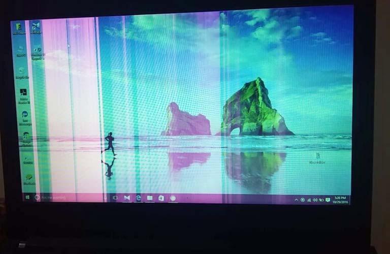 Máy tính xách tay của bạn hiển thị những đường kẻ sọc có thể xuất phát từ nhiều nguyên nhân