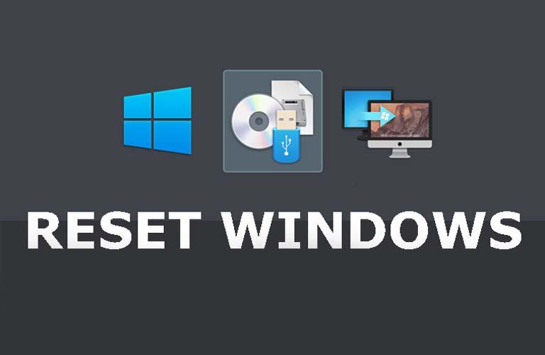 Cài đặt Windows cho máy tính xách tay của bạn để khắc phục lỗi ổ cứng