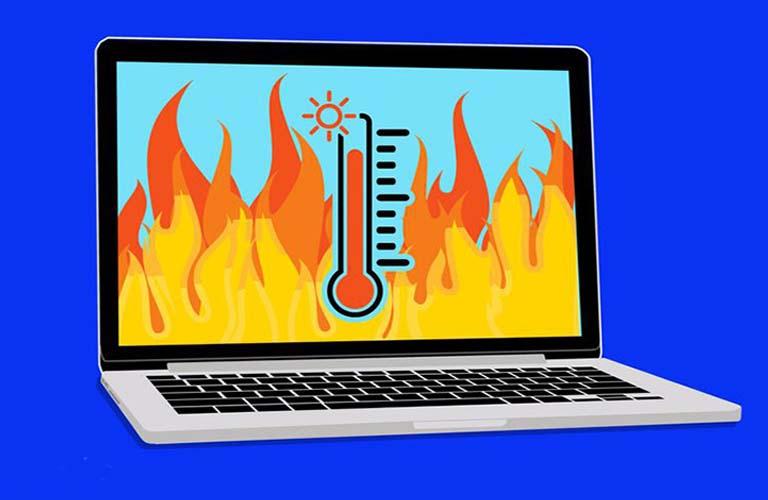 Nếu nhiệt độ máy quá cao có thể làm ổ cứng của bạn bị hư hại