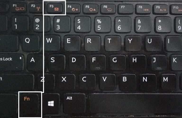 Các bạn hãy dùng tổ hợp phím có trên máy để khắc phục lỗi về chuột cảm ứng