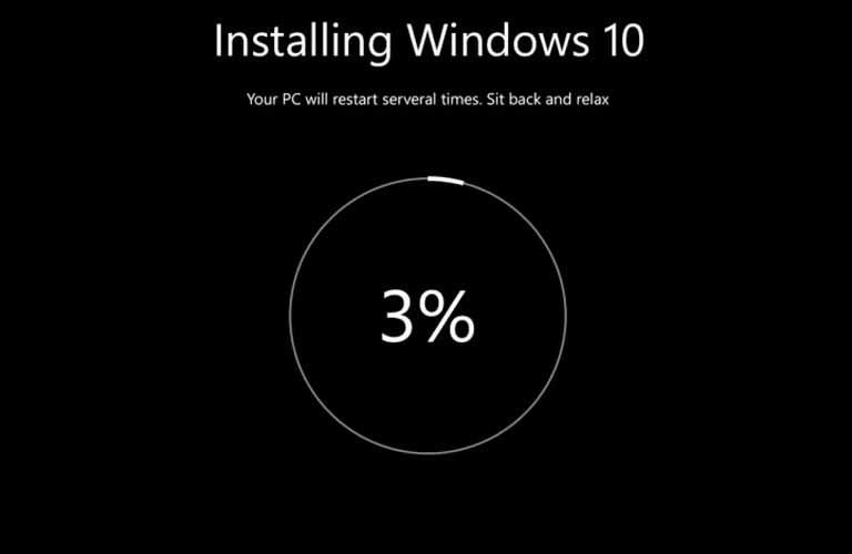 Cài đặt lại hệ điều hành Windows cho máy tính xách tay của bạn